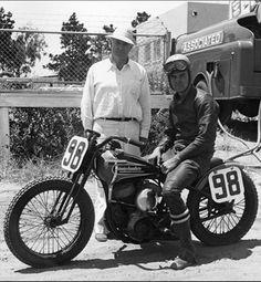 Joe Leonard #98 Harley-Davidson factory racer