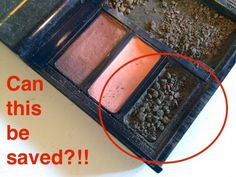 How To Fix Smashed Powder Makeup Green Eyeshadow, Powder, Makeup, Diy, Make Up, Face Powder, Bricolage, Face Makeup, Make Up Dupes