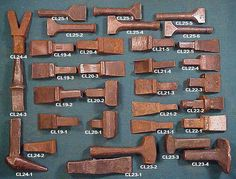 Anvil value - The Garage Journal Board Forging Tools, Blacksmithing Knives, Forging Metal, Drilling Tools, Metal Working Tools, Metal Tools, Old Tools, Metal Projects, Welding Projects