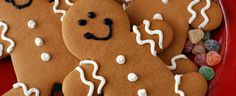 Gingerbread Men made from #DuncanHines Spice Cake Mix