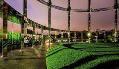 King's Cross  Gasholder Park  倫敦驚見魁地奇球場?150年煤氣站變身倫敦儲氣站公園! - La Vie行動家 設計改變世界