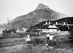 The Homestead from the site of Camps Bay High School 1900 Old Pictures, Old Photos, Vintage Photos, East Africa, North Africa, Camping Photography, Most Beautiful Cities, African History, Africa Travel