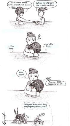 Tokka- Swimming lesson