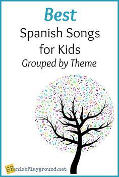 Spanish Songs for Kids Learning Language - Spanish Playground