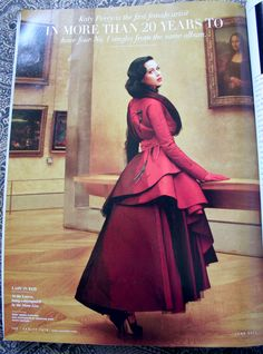 Katy Perry photos by Annie Leibovitz from Vanity Fair June 2011