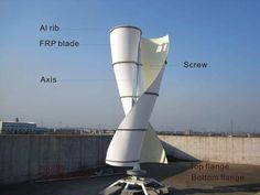 http://netzeroguide.com/vawt.html Vertical axis wind turbine information page. VAWT have many advantages compared to traditional wind turbines and are becoming more popular for home owners.