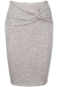 KNOTTED PENCIL SKIRT