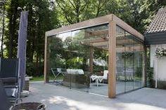 tuinhuis met overkapping zelf maken - Google zoeken