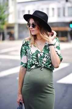 Navy Grace Blog by Camilla Thurman || Maternity Style
