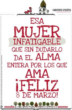 Resultado de imagen para poster dia de la mujer Quotes And Notes, Calm, Sayings, Memes, How To Make, Phone, Pink, Powerful Quotes, Motivational Quotes