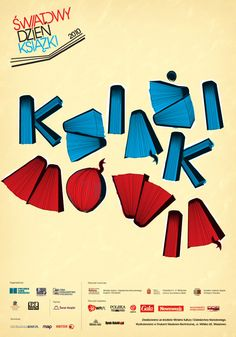 """Krzysztof Tryk (Aubo Lessi) : poster for """"World Book Day 2010""""."""