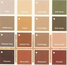 Winning Terracotta Room Ideas Colors That Compliment Wall Paint Color Tile Go With Orange House Roofs Brick Walls Match Tiles 7 Room Colors, Wall Colors, House Colors, Colours, Terracotta Paint, Terracotta Floor, Colour Pallette, Colour Schemes, Paint Schemes