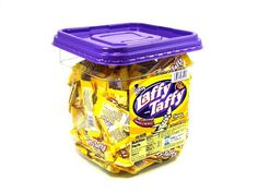 Laffy Taffy - bite-size banana - tub of 145