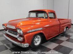 1959 Chevrolet Apache Truck Orange Other Automatic Other Classic