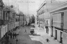 Calle Sagasta (hoy Calle Marina)