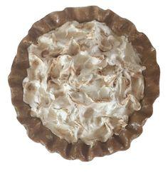Lemon Meringue Pie Faked by www.EverythingDawnBakeryCandles.com #fakepieprop #fakepie #fakelemonmeringuepie