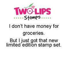 Two-Lips Stamps - Money for Groceries