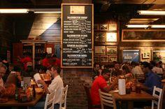 barbecue restaurant interior design   Hill Country Barbecue review Penn Quarter Reveiw