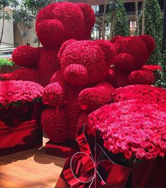 When Jeff Leatham decorates for Christmas. Diy Valentine's Day Decorations, Valentines Day Decorations, Valentines Diy, Rose Bouquet Valentines, Jeff Leatham, Romantic Surprise, Luxury Flowers, Arte Floral, Valentine's Day Diy