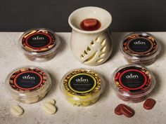 """""""Eden Magic Beanz"""" Aroma vosk - vůně Dračí krev, Sandalové dřevo nebo Jablečný sad #vosk #aromatherapy #wax #Eden"""