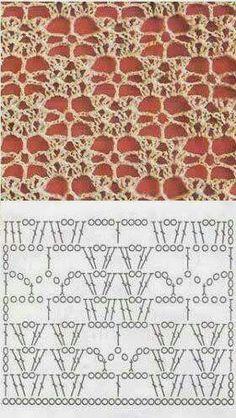 Puntos fantasía ( fabyta crochet tejido)