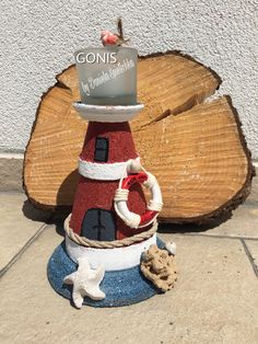 Jetzt wird es maritim 😍  Mit unseren Steinpasten und der Reliefpaste wird aus langweiligen Tontöpfen ein maritimer Hingucker 😍  Eure Kreativberaterin Dani😊🤗 Spietschka   WWW.DANIELA.SPIETSCHKA.GONIS.AT  Berater-ID1135240  #gonis #kreativberaterin #danielaspietschka #werbung #diy #steinpasten #terrassendeko #gartendeko #maritim #leuchtturm #lighthouse #lighthouselove #gardendecoration #maritime #maritimedecor