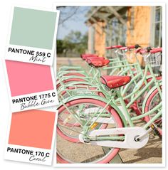 Mint, Pink and Coral Color Palette.... LOVE