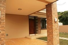 2 Storey Modern Asian Designed House with 4 Bedrooms - House And Decors Two Storey House Plans, 3d House Plans, Modern House Floor Plans, Dream House Plans, Two Story House Design, 2 Storey House Design, Small House Design, Modern House Design, New House Construction