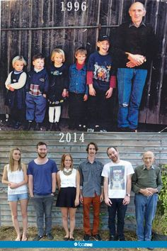 I just re-found these photos of my cousins my Grandad and myself taken 18 years apart. Haha Funny, Funny Jokes, Hilarious, Photo Recreation, Awkward Family Photos, Childhood Photos, Military Humor, Family Humor, Cartoon Memes