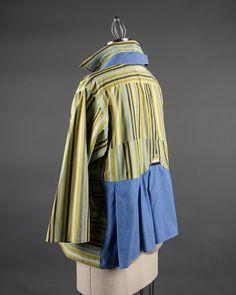 Paganoonoo, custom made garment upcycled from men's shirts