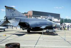 F-4 Phantom: USAF F-4G 697268 RAF Mildenhall