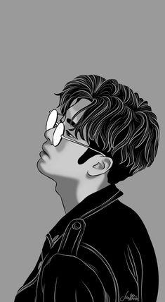 Jackson by on DeviantArt Got7 Fanart, Kpop Fanart, Wattpad Background, Pop Art Images, Cover Boy, Bad Cover, Wattpad Book Covers, Cute Couple Drawings, Jackson's Art