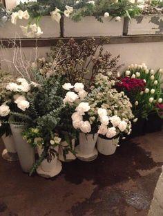 Dagen utvalg av blomster på Minamilanda