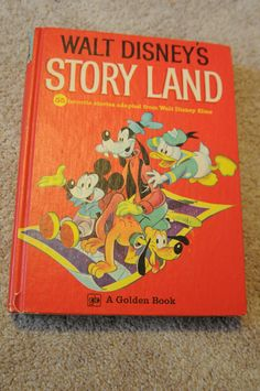Vintage Walt Disneys STORY LAND book 1962. Still have mine!!