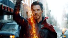 Doctor Strange and Iron Man in Avengers: Infinity War