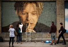 diane likes art — observando: Street Art: David Bowie