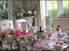 Lisa vanderpump table setting