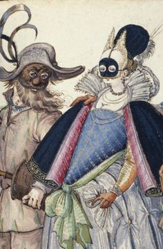 Book of Italian Costumes, by Niclauss Kippell - ca. 1588 - The Walters