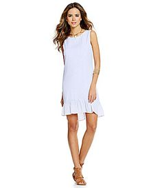 Gianni Bini Gillian HiLow Ruffle Dress #Dillards