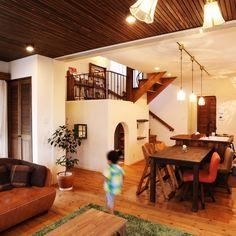 zestdesignhouseさんの、リビング,観葉植物,ナチュラル,雑貨,カフェ風,珪藻土,パイン材,塗り壁,インテリアショップとつくる家,ゼストデザインハウス,のお部屋写真