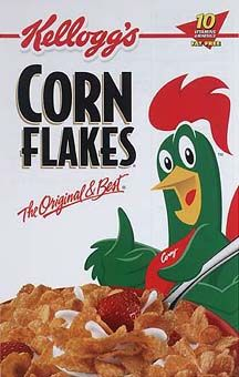 cornflakes dk cereal box - Google Search