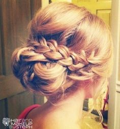 Bridesmaid Updo hairstyles-04 - Girls Beauty Look""