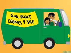 How to Sell Girl Scout Cookies. Is it cookie time again? The Girl Scouts have their own special way of kicking off the new year. with cookie season! As a member of the Girl Scouts, you probably look forward to cookie selling time all. Girl Scout Swap, Girl Scout Leader, Girl Scout Troop, Boy Scouts, Selling Girl Scout Cookies, Minecraft Cookies, Daisy Girl Scouts, Brownie Girl Scouts, Girl Scout Crafts