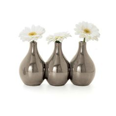 Torre & Tagus Nari 3 Bud Vase, Gray by Torre & Tagus. $19.72. Ceramic flower vase. Interior accents. Unique connected bud vases. Torre & tagus nari 3 bud vase clay, our experts have created the perfect cluster of bud vases to take the guess work out of interior design for you.. Save 12%!