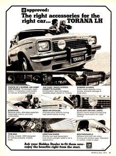 Holden Torana, Holden Australia, Australian Cars, Car Brochure, Car Posters, Car Advertising, Muscle Cars, Vintage Cars, Cool Cars
