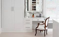 Wardrobe With Dressing Table Bedroom Ideas Pinterest