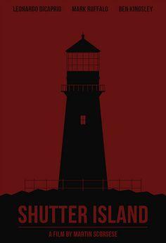 Shutter Island (2010) ~ Minimal Movie Poster by Polar Designs #amusementphile