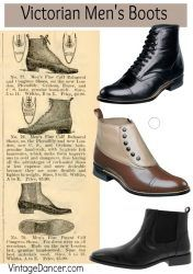 Victorian-mens-boots-and-shoes-pin-Vintagedancer-com-176x250.jpg (176×250)