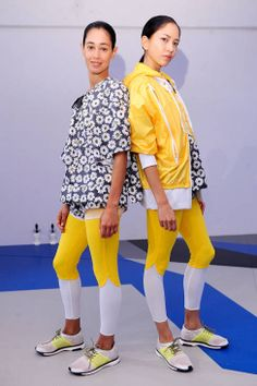 Adidas By Stella McCartney Spring 2014 Ready-to-Wear Runway - Adidas By Stella McCartney Ready-to-Wear Collection