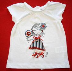 """Camiseta """"Ro-ro"""" marinera infantil / Día tras Día - Artesanio"""
